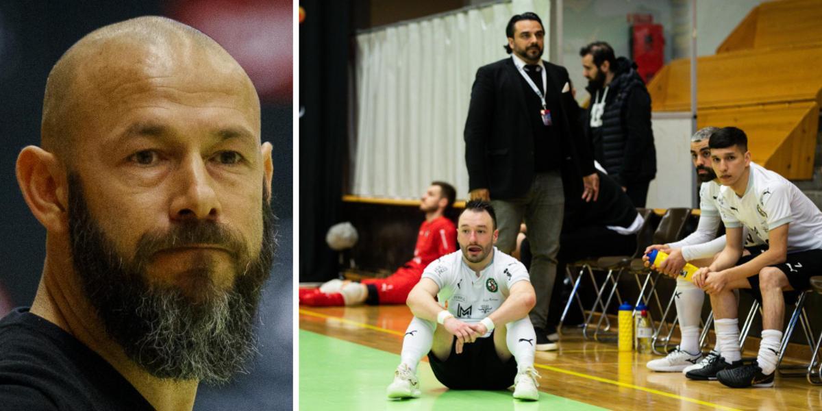 """Tränaren erkänner – ÖSK Futsal hade inte förberett sig för straffar: """"Lär mig något nytt varje dag …"""""""