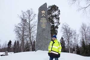 Minnesmärket över slaget vid Brunnbäck restes  1896. 1921 hölls ett 400-årsjubileum här där nobelpristagaren  Karl Axel Karlfeldt höll ett tal.
