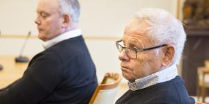 Äldreombudsman Johan Crusefalk och Bengt Åke Nilsson (L).