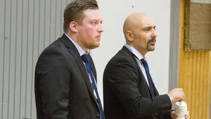 Adam Engström tillsammans med Starscoachen Jotti Nikolaidis.
