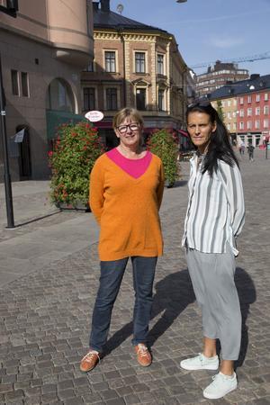 Ulla Walldén och Lena Tideström-Sagström