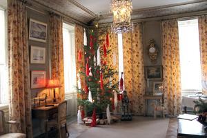I julrummet firade familjen julafton till långt in på 1900-talet.