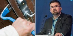 SD-politikern Joakim Larsson från Tierp har skrivit en motion där han vill utöka rätten att döda i självförsvar.