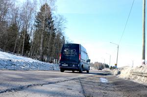 E14 mellan Björneborg och Matfors kommer att få ny beläggning i sommar.
