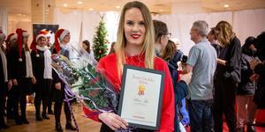 Sabina Bär har utsetts till Årets Gävlebo 2019 av Arbetarbladets läsare, med motiveringen: