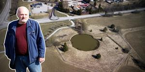 Richard Meurman upptäckte raset när han cyklade till sitt jobb på gruvan söndagen den 14 oktober 1990.