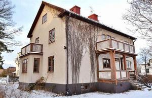 En villa med åtta rum var det tredje mest klickande dalaobjektet på Hemnet under vecka 2.Foto: Riksmäklaren