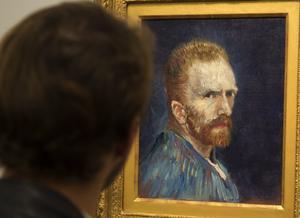 Det finns nu bara ett enda existerande fotografi av konstnären Vincent van Gogh, förutom de många självporträtten. Arkivbild.Foto: Ryan Remiorz/AP/TT