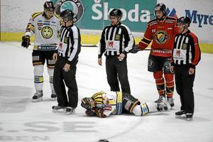 Brynässpelaren Sebastian Lauritzen fick lägga av med hockeyn 2018, efter sju hjärnskakningar.