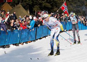 Daniel Richardsson slutade på 18:e plats i söndagens etapp av Tour de ski.
