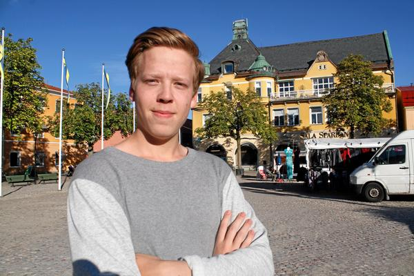 Elias Lundberg kör flitigt den här säsongen.