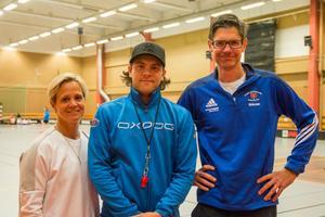 Jennie Blomstrand, Viktor Borg och Göran Bergshem.