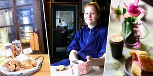 Hanna Andersson, 25 har öppnat bageri och kafé tillsammans med sin mamma Katarina Östberg och