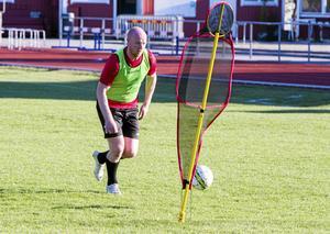 Martin Sjölund spelar kvar i KFF och har gjort fyra mål på de inledande sju omgångarna för Köping. Foto: BBLAT-arkiv