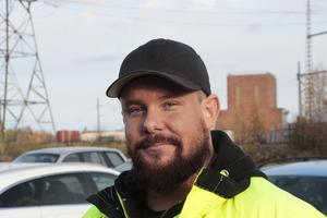 Patrik Björling , 33 år, betonar Sandviks viktiga roll för hela svenska verkstadsindustrin.