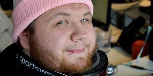 Andreas Nordin – en av de anställda vid Releasy i Borlänge.
