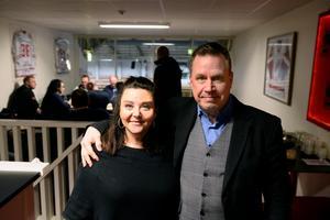 Ordföranden Pernilla Eurenius och Jonny Aliranta.