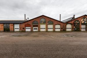 Här på SJ-området, även känd som Lokstallarna, är det tänkt att bandyhallen ska byggas, om bandyföreningen får som de vill.