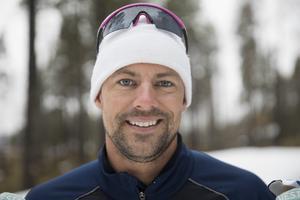 Ludvig Jensen jagar ett nytt världsrekord under Supersprinten i Östersund.