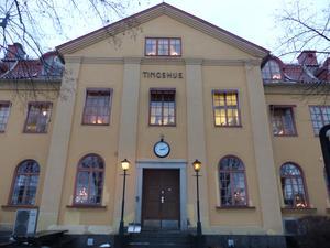 Tingshuset i Ljusdal.