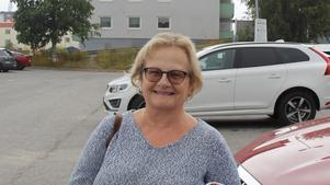 Karin Sedin, 60 +, pensionär, Timrå.