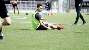 Simon Amins knä sätter stopp för mittfältaren mot IFK Norrköping