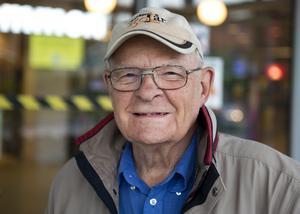 Kjell Palén, 85 år, pensionär, Sundsvall