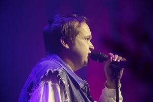 Marcus som uppträdde med Jajamen.