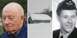 Nils-Otto Nordfjäll till vänster och Arne Nordfjäll till höger.