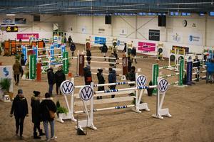 Det var första gången som Södertälje arrangerade SM i hästhoppning.