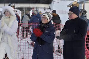 Ylva Thörn och Peter Hultqvist invigde gemensamt Idre Himmelfjäll.