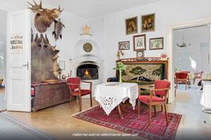 Foto: Malin af  Kleen/ Bostadsfotograferna. Interiör från Drakabäcken. Priset är 4,2 miljoner kronor.