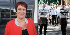 Riksdagsledamoten Maria Strömkvist är en av ledamöterna i den parlamentariska kommittén. Montagefoto: Mats Laggar och Lars Dafgård