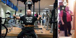 Åtta månaders hårt slit har lönat sig för Magnus Vestberg från Indal, som gick ner från 188 till 77 kilo.