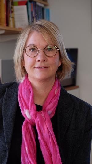 Karin Berglund kuskade världen runt i sex år innan hon började utbilda sig.