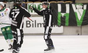 Hannes Edlund fick kalasträff.