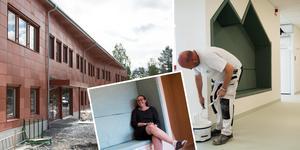 Den 2700 kvadratmeter stora Anundsjöskolan rymmer alla finesser som en modern skola bör ha.