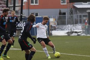 Johan Mårtensson fick nlja sig med en poäng mot sitt gamla lag.
