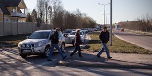 I genomsnitt 10 310 fordon passerar väg 68 varje dag.