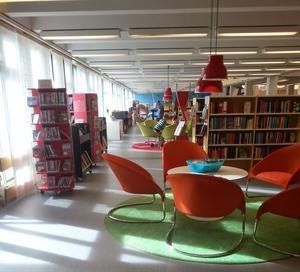 Mysigt på biblioteket.