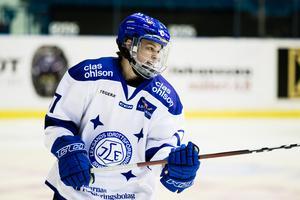 Danielle Stone både inledde och avslutade målskyttet när Leksand besegrade SDE på bortais. Foto: Kenta Jönsson/Bildbyrån