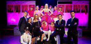 Ett antagningsstopp föreslås för Wendela Hebbegymnasiet, där flera estetiska utbildningar finns. På bilden eleverna i vårens uppsättning av musikalen Legally Blonde.