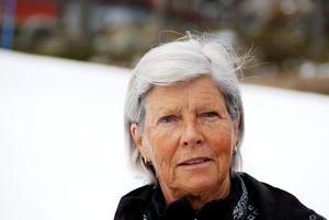 Lena arbetade som idrottslärare i Hede mellan 1972 och 2013 och hon har trivts väldigt bra.