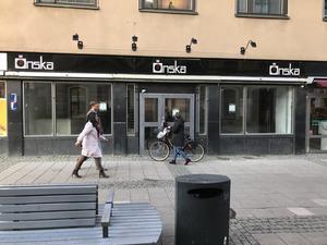 Bro Burgers kommande lokal på Drottninggatan 21.