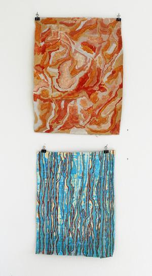 Effekten i Gerth Malmros målningar blir nästan psykedelisk.