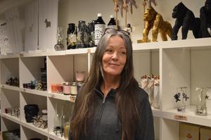 Sofie Engström är ägare till butiken Decoria i Falun.