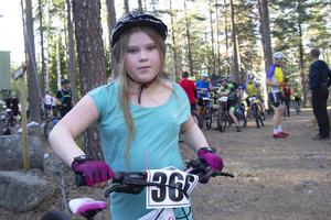 Deltävlingen i Bollnäs blev Amanda Henrikssons andra, hon var även med på förra veckans tävling i Söderhamn.