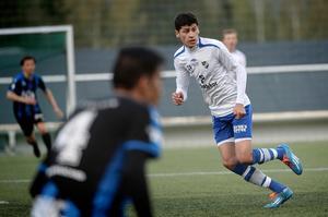IFK Sundsvalls Salo Gavador under en match mot