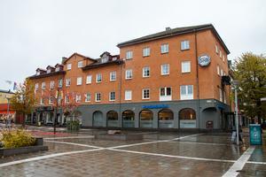 Handelsbankshuset har fått ny ägare. Det är Krylbohus systerbolag Örnen 3 AB som köpt fastigheten av Stripåsen AB.