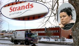 Konkursförvaltare Ester Andersson Zandvoort har nu även industrifastigheten på sitt bord.  Fastighetsbolaget är försatt i konkurs. Nyligen sålde hon delar av tryckeriföretaget Strands till Ljungbergs tryckeri i Skåne.